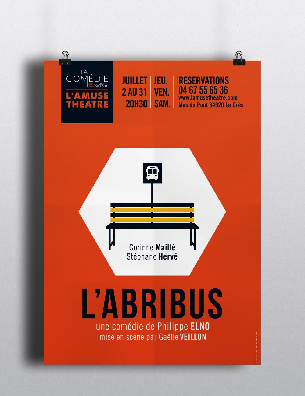 Abribus  | affiche