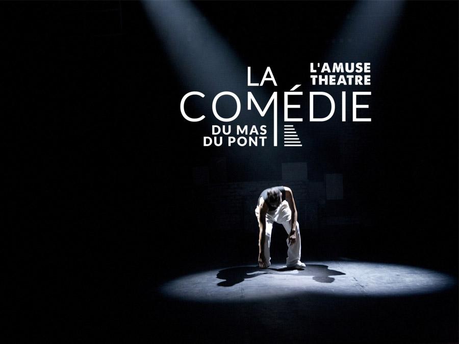 la Comédie du Mas  | logo