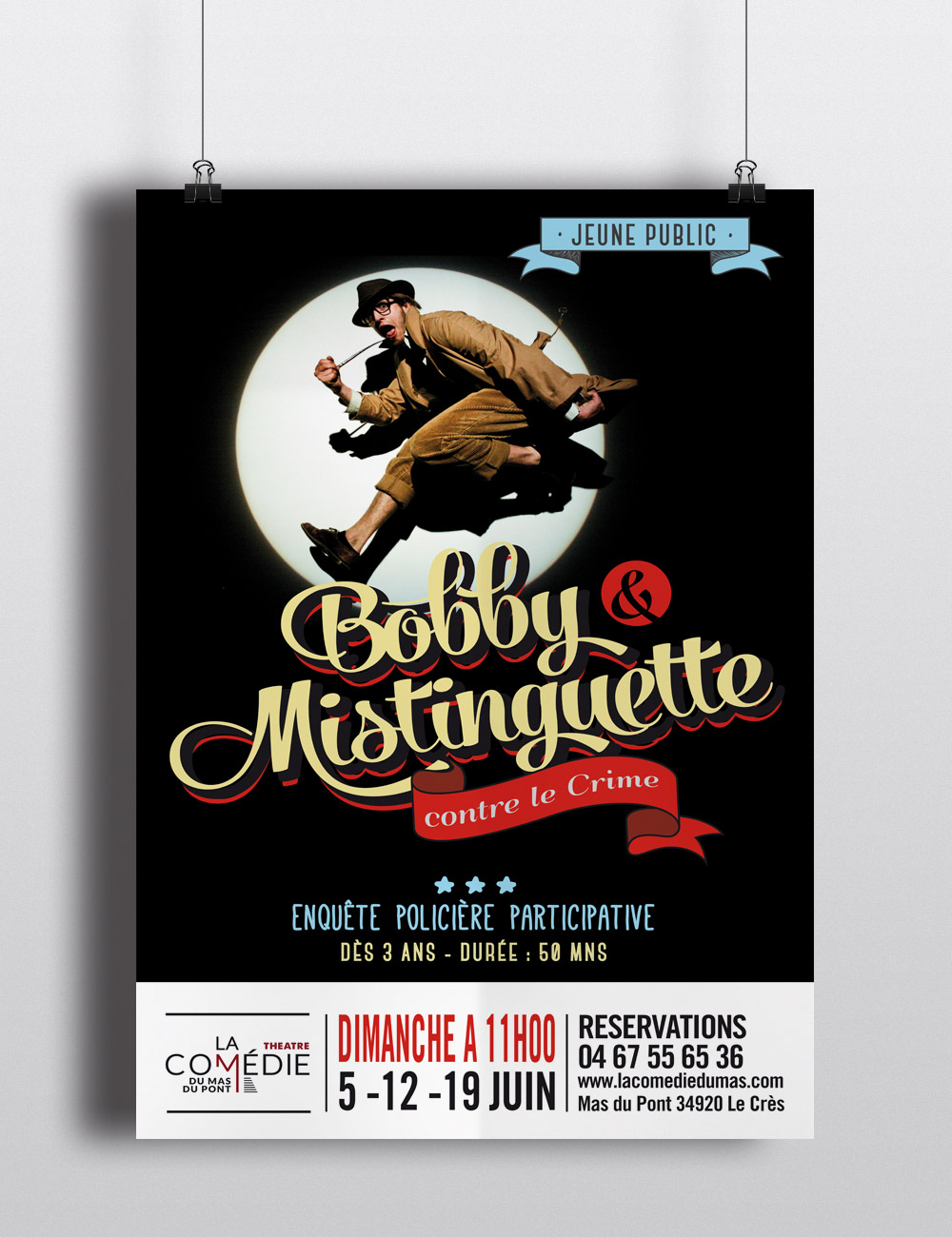 Bobby & Mistinguette  | affiche
