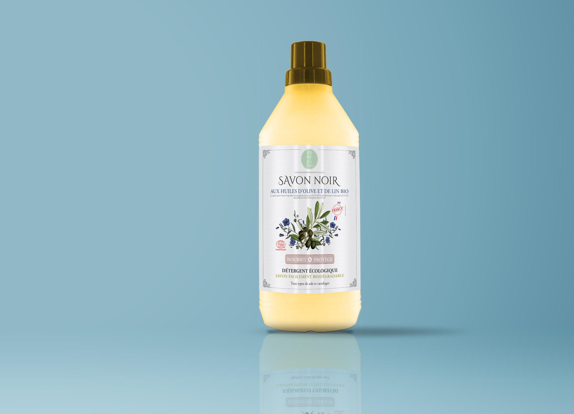 zoocci | savon noir etiquette