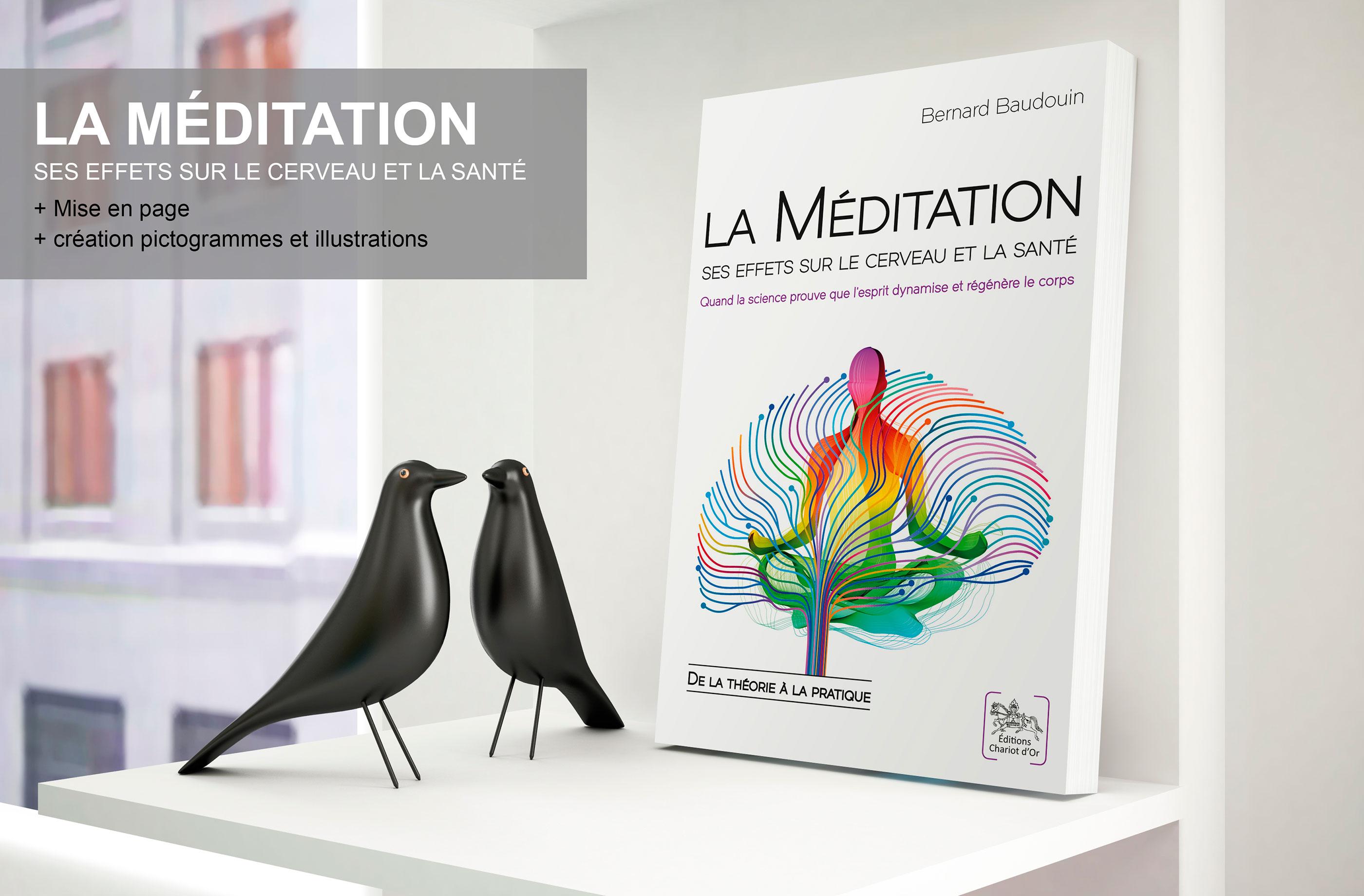 Piktos | La méditation ses effets sur le cerveau et la santé