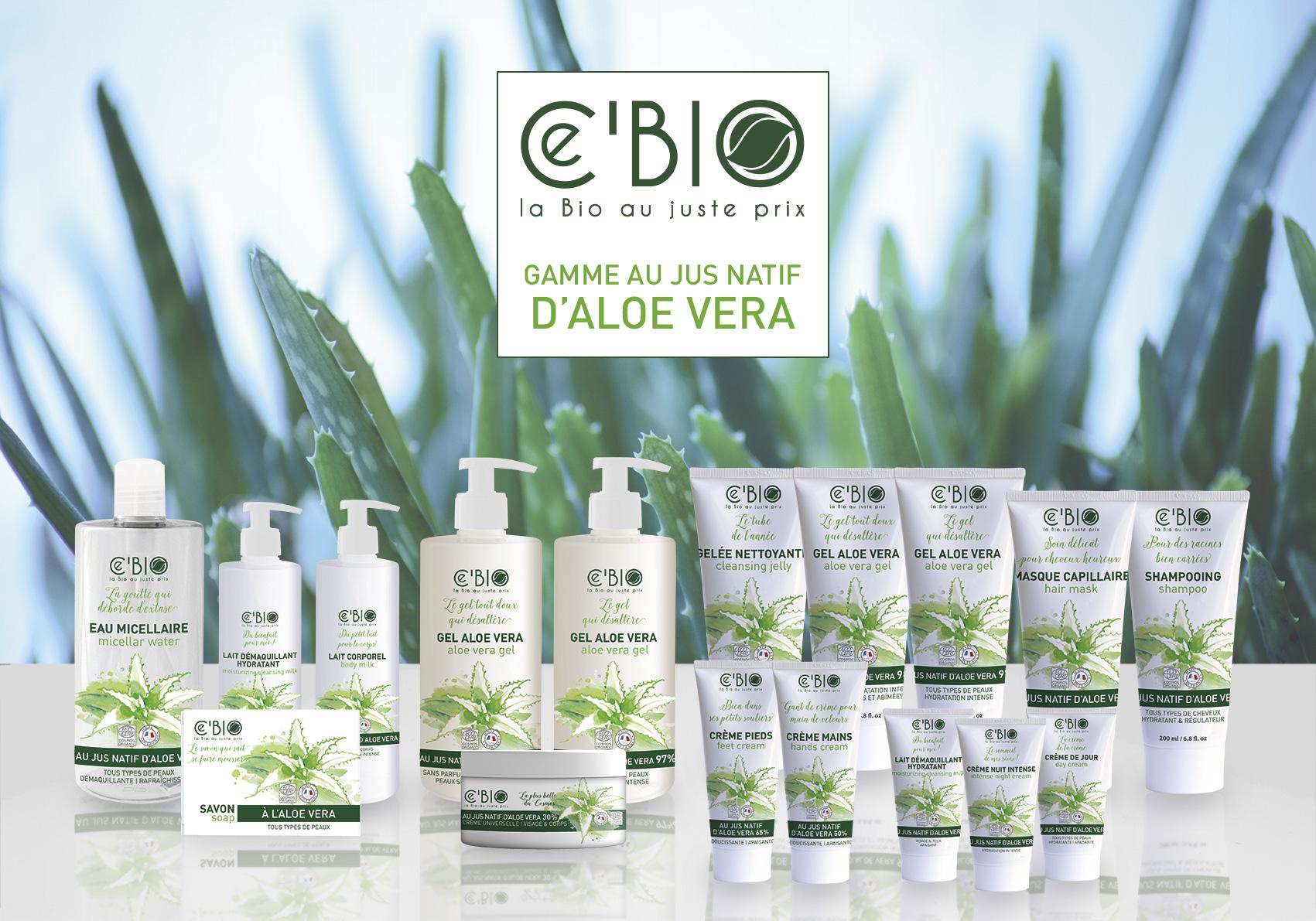 laboratoire Gravier | Ce'BIO gamme Aloe Vera
